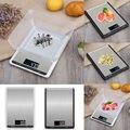 Balance de cuisine numérique | Balance de cuisine électronique 10kg en acier inoxydable avec outils de cuisine à affichage Lcd de 5kg/10kg 1g