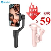 Feiyu Vlog Pocket 3 Axis Handheld Gimbal Stabilizer Voor Iphone/Huawei/Samsung/Xiaomi, kleine & Light & Opvouwbaar