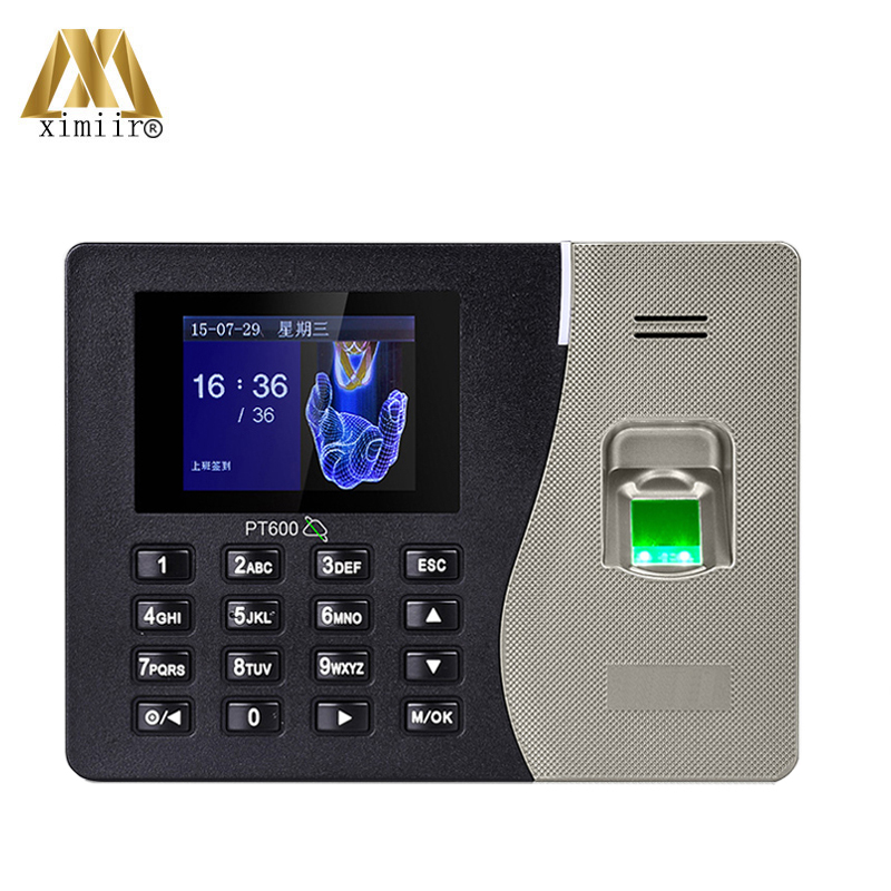 PT600 ZK Biometric Fingerprint Time Attendance System With TCP/IP USB Time Attendance Recorder Free Shipping