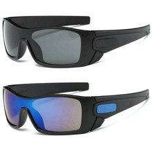 Clássico esportes espelho óculos de sol de pesca ao ar livre dos homens condução motorista óculos oversized o óculos de sol marca luxo uv400