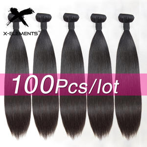 Remy-Hair Bundles Deal Natural-Color 100%Human-Hair-Bundles Brazilian Weaving Straight