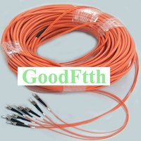 Patch Cord Patchcord FC FC Multimode 50/125 OM2 4 Cores Trunk Breakout 2.0mm GoodFtth 20 50m