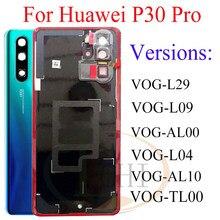 Original pour Huawei P30 pro couvercle de batterie boîtier de porte en verre arrière pour Huawei P30 Pro couvercle de batterie pour huawei p30 couvercle de batterie