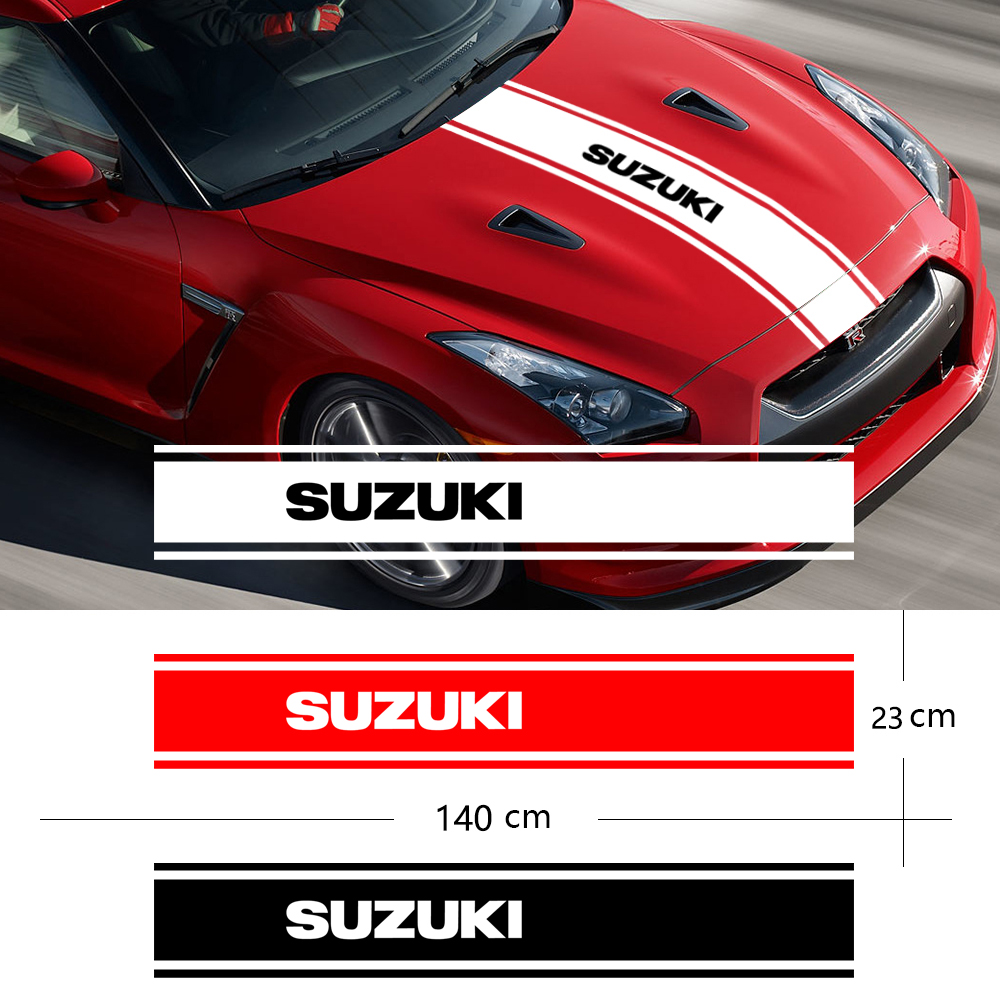 New Styling Car Hood Covers Vinyl Racing Sports Decal Head Car Sticker Car Accessories For Suzuki Jimny SWIFT VITARA SX4 Styling