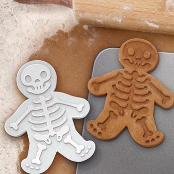 Serii halloweenowej DIY Gingerbread Man foremki do ciastek formy silikonowe formy ciasto kremówki foremki do cukierków z czekolady kuchenne narzędzia kuchenne tanie i dobre opinie CN (pochodzenie) Zaopatrzony cookie cutter Ce ue Lfgb Food grade plastic dropshipping wholesale