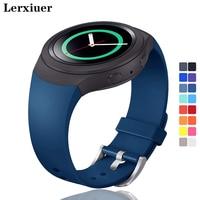Lerxiuer Sport Strap Für Samsung Galaxy Getriebe S2 band R720 R730 Smart Uhr Band Silikon handgelenk armband correa armband gürtel