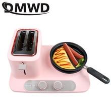 DMWD машина для выпечки завтрака, мини-тостер, омлет, сковорода, электрическая сковорода для приготовления лапши, кастрюля для приготовления тостов, хлеба, духовки, яиц, плита