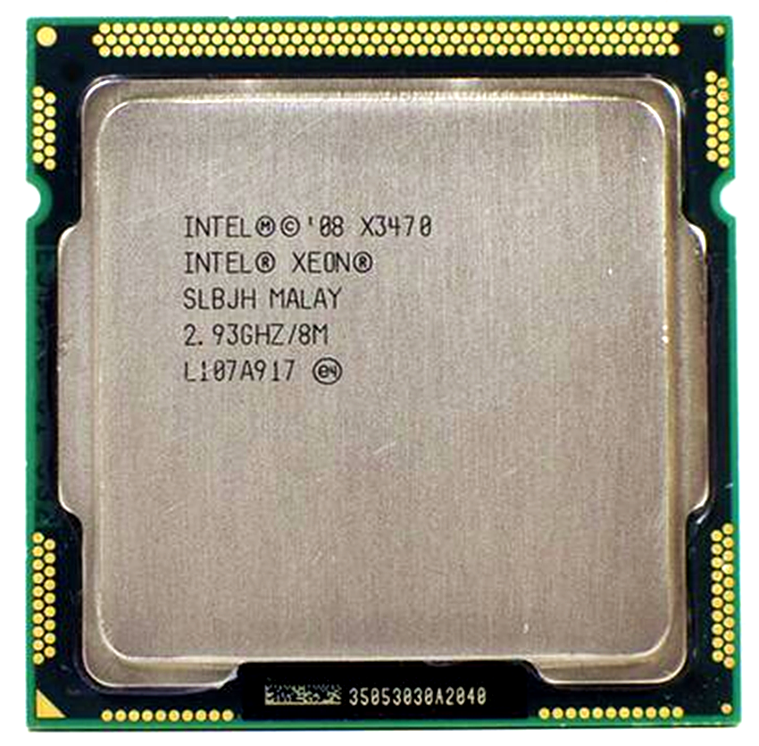 Intel Xeon X3470 2.933 GHz Quad-Core Eight-Thread 95W CPU Processor Quad-Core 8M 95W LGA 1156