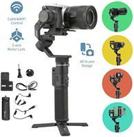 FeiyuTech Feiyu G6 Max 3-Assi Handheld Camera Gimbal Stabilizzatore per fotocamera Mirrorless Macchina Fotografica di Tasca GoPro Hero 7 6 5 Smartphone