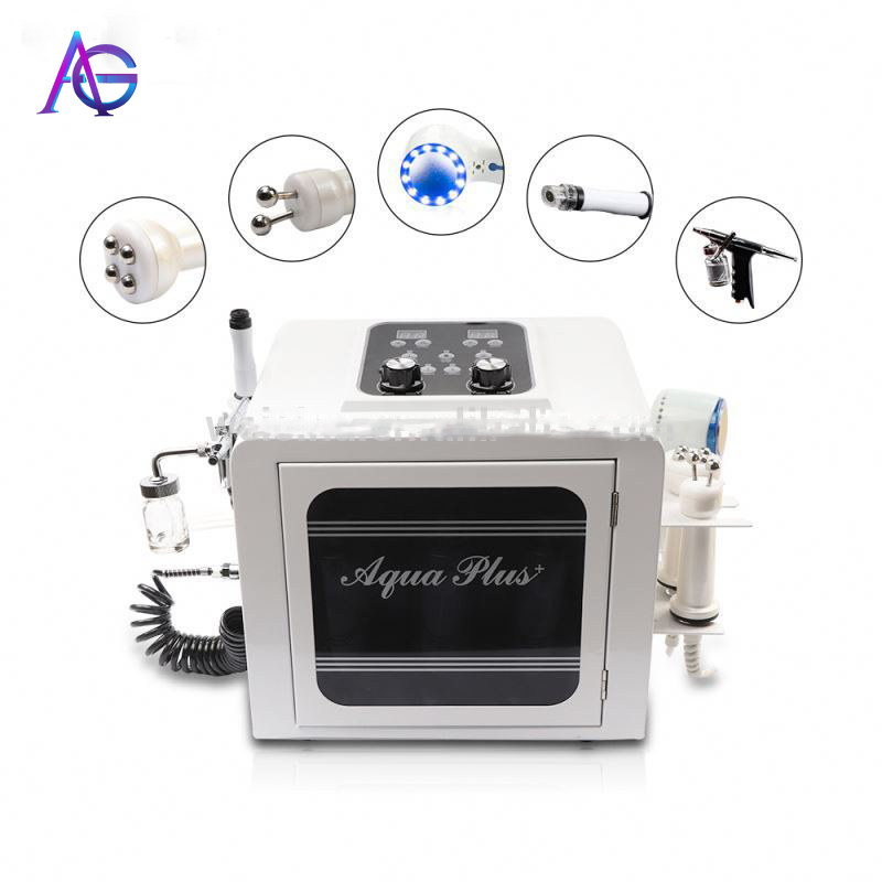 Adg 5 In 1 Water  Oxygen Facial Machine Korea Small Bubble Therapy Equipment