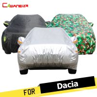 Cawanerl Outdoor Car Cover SUV Anti UV Sun Rain Snow Resistant Cover For Dacia Dokker Duster Lodgy Logan Nova Sandero Solenza