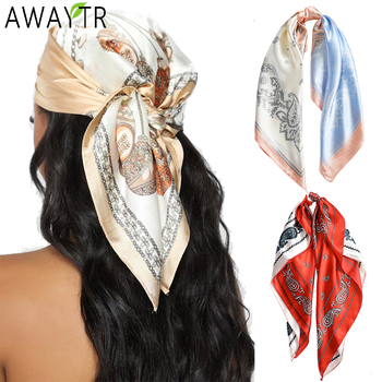 Floral Print Scrunchies Hair Scarf Bohemia Women Ribbon Hairbands Streamers Bow Rope Ties Holder Ponytail Accessories - discount item  30% OFF Headwear
