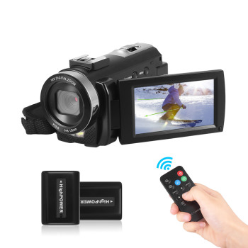 Andoer HDV-201LM 1080P Full HD Digital Video Camera Camcorder Mini DV Recorder 24MP 16X Digital Zoom 3.0 Inch LCD Screen 2