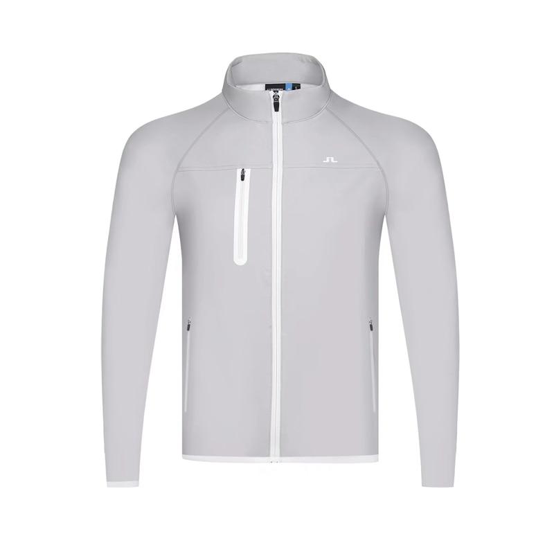 New JL Golf Jacket Men's Plus Velvet Golft-shirt  Jacket Comfortable Warm Golf Clothing Free Shipping
