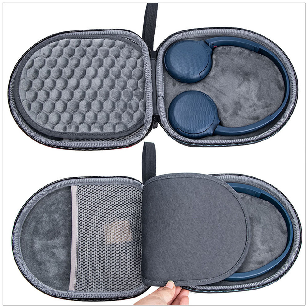 EVA Carrying Case For Sony WH-CH510 Headphone Accessories Anti-impact Protective Storage Bag Travel Case