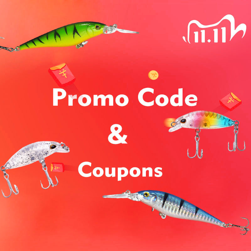 2020 11.11 Global Shopping Festival Shopping Guide Win Gift!!How to Get the Coupons and Promo Code|Fishing Lures| - AliExpress