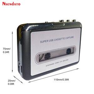 Image 2 - USB לכידת קלטת רדיו נגן נייד USB קלטת כדי MP3 ממיר לכידת אודיו מוסיקה נגן קלטת קלטת