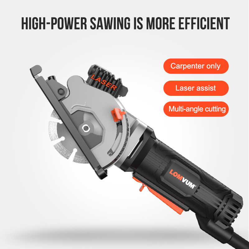 Tools : LOMVUM Mini Circular Saw With Laser Blades Power Tools Electric Tools 480W Electric Saw Multifunctional For Wood Metal Cutters