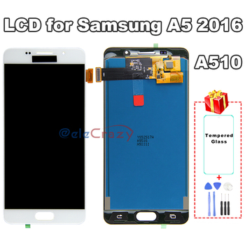 100% tested For SAMSUNG Galaxy A5 2016 LCD A510 A510F A510M A510FD LCD Display with Touch Screen Assembly Replacement TFT AAA 100% tested aaa quality for samsung galaxy a5 2015 a500 a500f a500m replacement lcd display with touch screen digitizer assembly