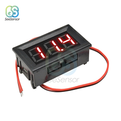 Mini Digital Voltmeter AC 70-500V Panel Volt Voltage Meter Tester 0.56