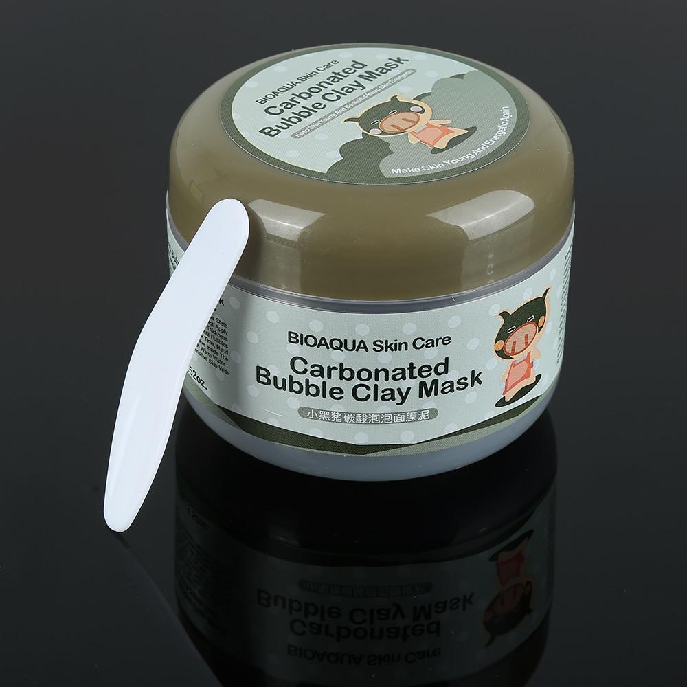 BIOAQUA Skin Care Nutrition Repair Face Cream Carbonated Bubble Clay Dispel black head Whitening Moisturizing Skin Care TSLM1