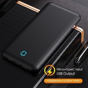 10000mAh Power Bank For iPhone Xiaomi Powerbank External Battery Pack Portable Charger Mi Powerbank Poverbank Power Bank