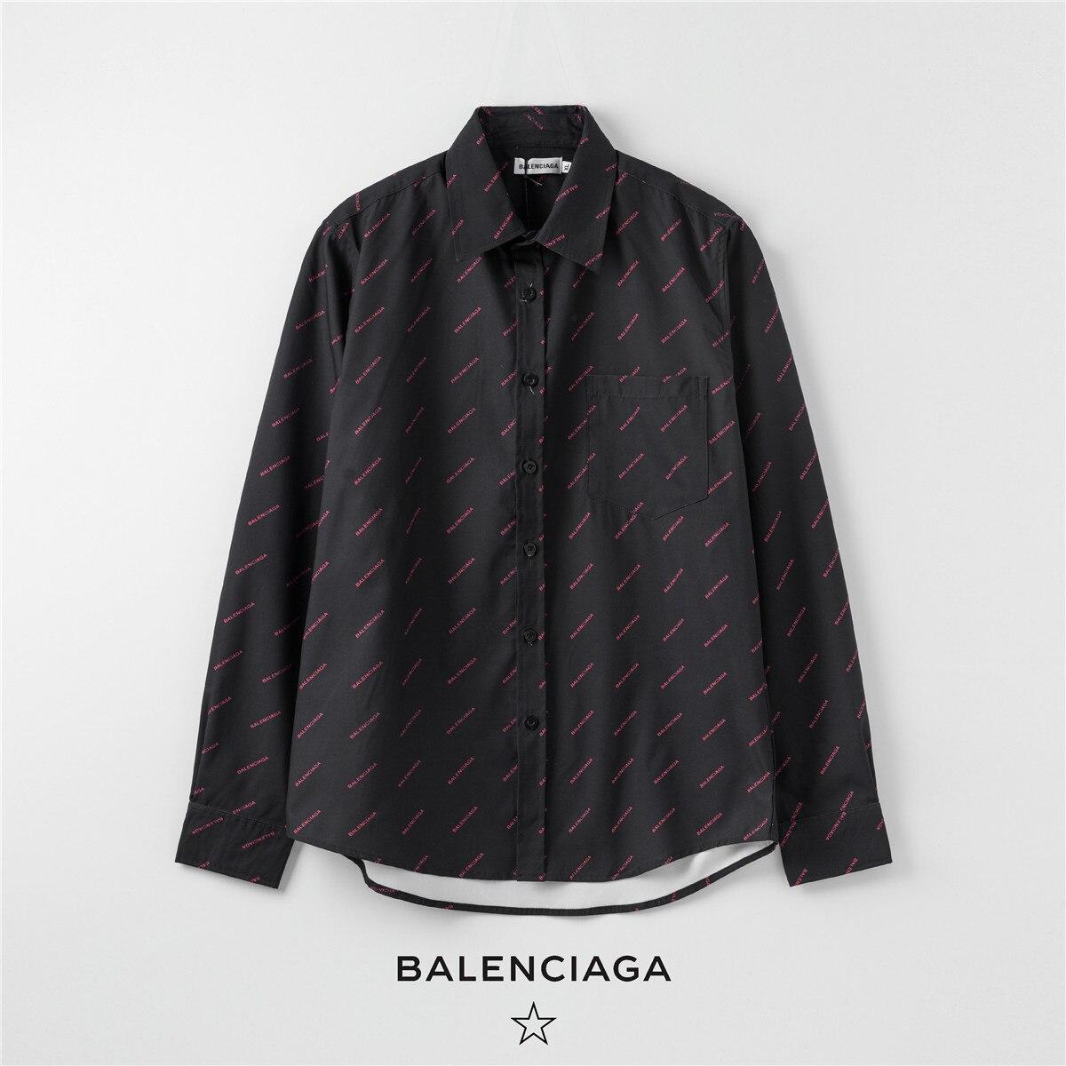Классическая клетчатая Свободная рубашка Bal *** enciaga, Женская Повседневная универсальная Милая Студенческая Женская одежда, модная винтажная рубашка|Блузки| | АлиЭкспресс