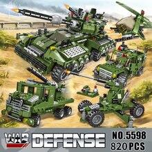 2021 710 pçs blocos de construção do tanque veículo aeronaves menino brinquedos figuras blocos educacionais tijolos compatíveis militares