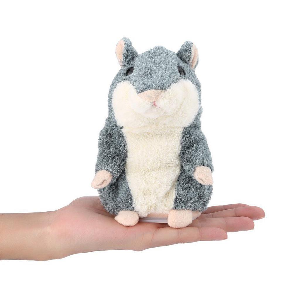 Talking Hamster Plush Animal Toy Electronic Hamster Mouse Repeat What You Say