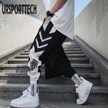 Ursporttech новинка уличная одежда штаны для бега в стиле хип