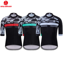 Men Breathable Cycling Jersey Summer Mtb Jersey camisa ciclismo Lycra Bike Jersey Short Sleeve maillot ciclismo hombre