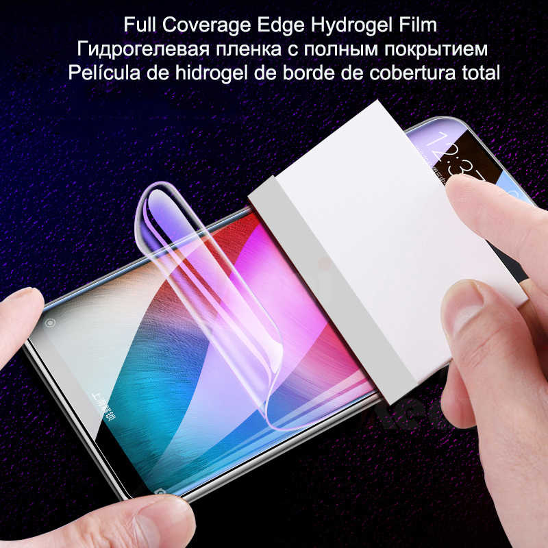 Hydrogel Film For Samsung Galaxy S10 S9 Plus Note 10 9 8 Plus S7 Edge S10e Screen Protector Film For Samsung A50 A80 A60 A40