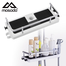 Shower Storage Holder Rack Organizer Bathroom Shelf Shampoo Tray Stand No Drilling Floating Shelf For Wall Household Item
