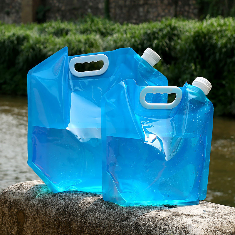 Strong-Willed 5l/10l Outdoor Water Bag Foldable Portable Strong Capacity Drinking Car Water Container For Outdoor Camping Hiking Picnic Bbq Large Assortment