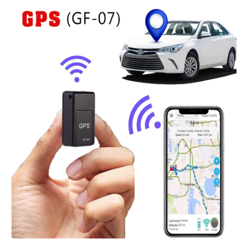 Locator Recording-Tracking-Device GPS Magnetic Mini Kids Anti-Theft for Elder Pets Voice-Control