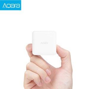 Image 3 - Aqara 큐브 컨트롤러 Zigbee 버전은 스마트 홈 장치 TV 스마트 소켓을위한 전화 app로 6 가지 동작으로 제어됩니다.
