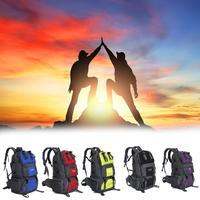 50 L Sports Bag Big Capacity Outdoor Hiking Backpacks Camping Mountaineering Hunting Bags Travel Backpack Women Men