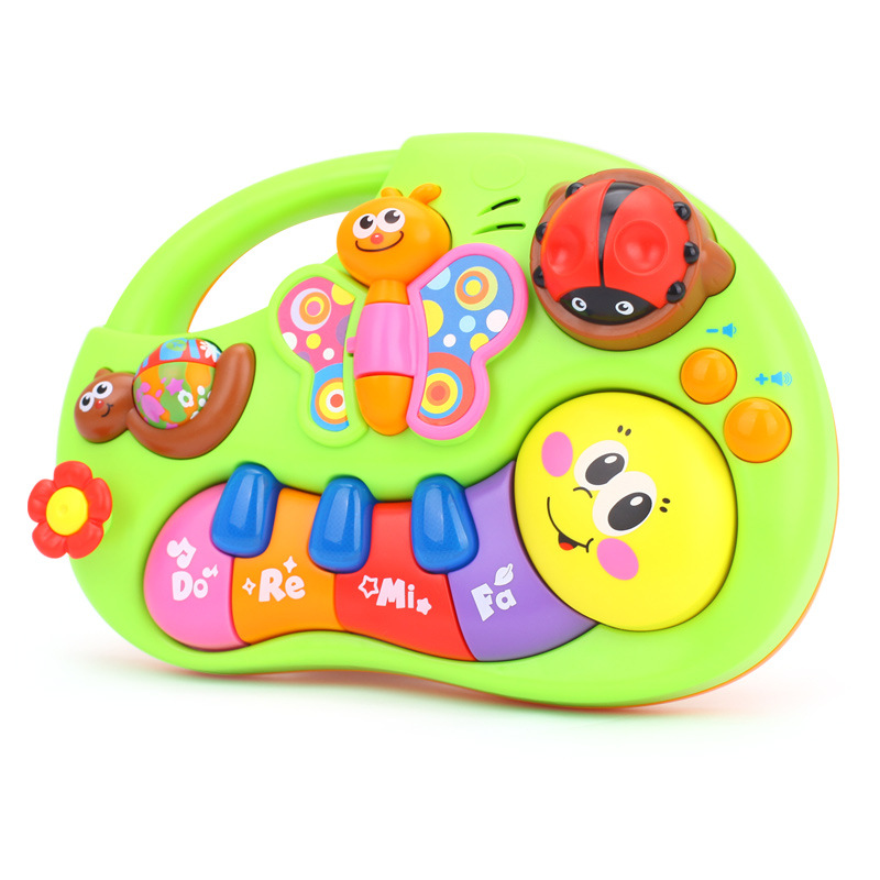 Department Of Music 927 ENLIGHTEN Handheld Educational Xue Xi Qin 0-6-12 Month Infant Baby To Sleep Pacify Music Toy