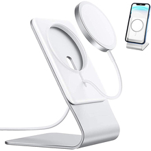 Stand for MagSafe Charger Aluminum Desktop Phone Stand Holder Compatible with Apple MagSafe Charging for IPhone 12/12Pro/12 Mini