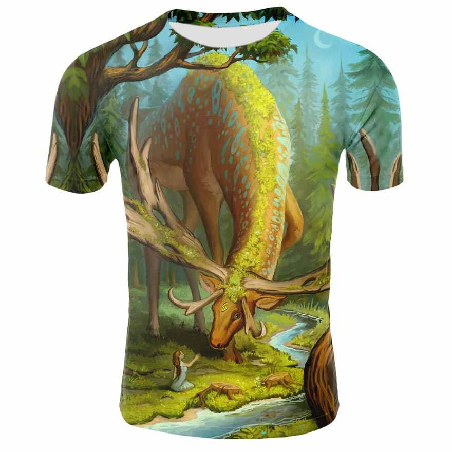 2019 Grappige Tee Leuke T Shirts Homme Sondirane Mannen Toevallige Korte Mouwen Cartoon Tops Cool Tshirt Zomer Jersey Kostuum T-shirt