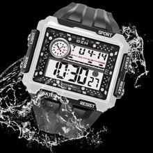 Digital Watch Montre Electronic-Clock SYNOKE Male Sports Waterproof Men's Dial Homme