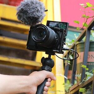 Image 5 - UURig C A6400 Caméra En Métal Cage Plate Forme pour Sony Alpha A6400 Poignée Caméra Accessoires pour Appareil Photo REFLEX NUMÉRIQUE