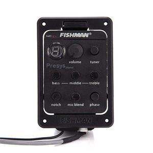 Fishman Presys 301 микрофон, смешанный, двойной режим, акустическая гитара, плата предусилителя, эквалайзер, пьезо пикапы, диафрагма, эквалайзер