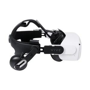 Image 2 - Headset Adapter Deluxe Audio Band Kit Compatibel Met Oculus Quest 2 Das Htc Vive (V2) Frankenquest 2