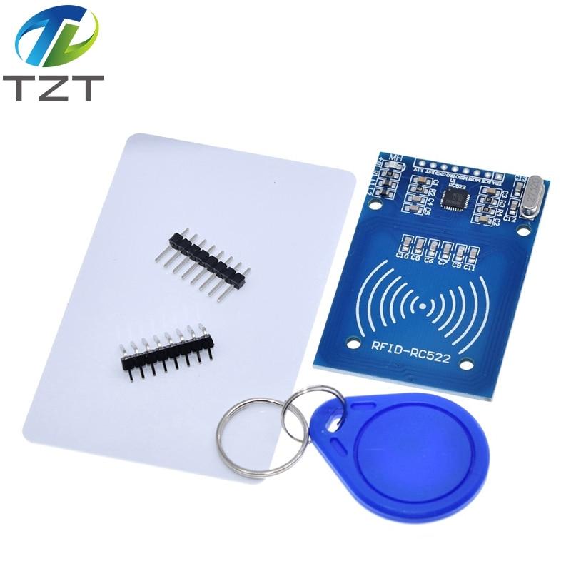Завеса MFRC-522 RC-522 RC522 антенна RFID IC Беспроводной модуль для Arduino IC ключ SPI писатель микросхемой чипом микропроцессорные карты Бесконтактный мод...