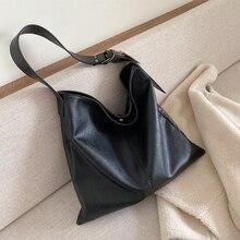 Big Bag Women Fashion Shoulder Bag Large Capacity Ladies Handbag Bolso Mujer Grande Soft PU Leather Torba Damska Tote Bag