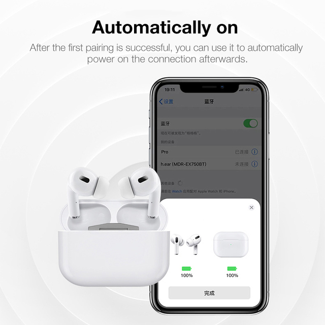 Airpods Pro 3 Bluetooth Headphones Headset Alternative 2