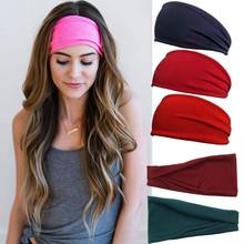 Bandeau de sueur de Yoga absorbant pour hommes et femmes, 1 pièce, accessoires de Sport en plein air, cyclisme, course à pied, pour hommes et femmes