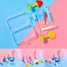 6/8pcs/set Newborn Baby Safety Nose Cleaner Kids Vacuum Suction Nasal Teethers Medicine Baby Care Dropper Various Accessories(China)