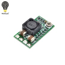 WAVGAT Mini DC-DC 12-24V à 5V 3A abaisseur Module d'alimentation convertisseur de tension Buck réglable 97.5% 1.8V 2.5V 3.3V 5V 9V 12V(China)